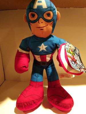 Captain America plush 12inch for Sale in West Haven, CT