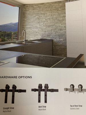 Barn door hardware 6ft wide for Sale in Mesa, AZ