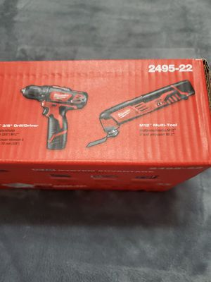 Milwaukee M12 cordless 2-tool combo kit for Sale in Riverview, FL