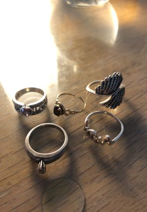 Sterling silver 10k gold rings for Sale in San Diego, CA