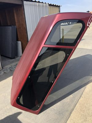 Camper shell for a Chevy or gmc short bed for Sale in Tulare, CA