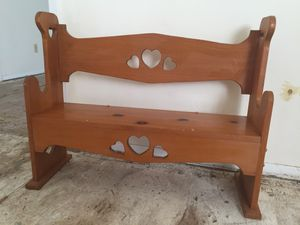 Kids bench for Sale in Abilene, TX