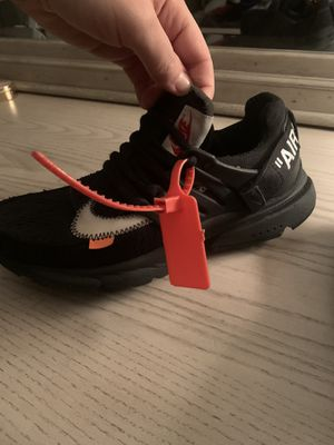 Nike off white the 10 air presto red tag for Sale in Manchester, MO