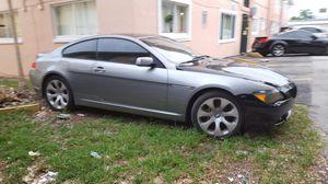Bmw 645 2004 for Sale in North Miami Beach, FL