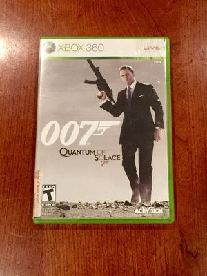 Quantum of Solace Xbox 360 for Sale in Philadelphia, PA