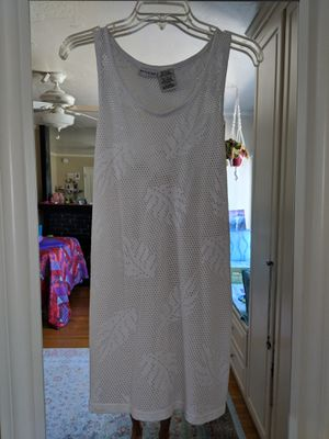 Adorable white bathing suit cover up size small for Sale in Huntington Beach, CA