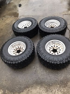"5.5"" x 5 wheels with 33s for Sale in Richmond, CA"