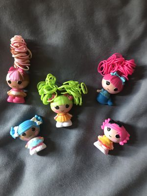 Lalaloopsy Tinies Set of 5 for Sale in Manassas Park, VA