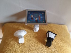 (3) Assorted Night Lights! for Sale in Grosse Pointe, MI