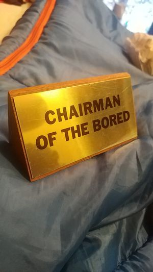 Funny desk nameplate for Sale in Gig Harbor, WA