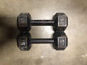 15lb Dumbbells for Sale in Anaheim, CA