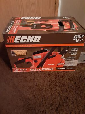 "Brand new Chainsaw Echo 18""bar 40.2cc Engine for Sale in Beaverton, OR"