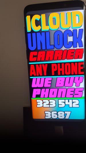 locked iPhone X 8 plus xs for Sale in Baldwin Hills, CA
