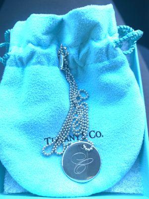Silver Tiffany's necklace for Sale in Apopka, FL