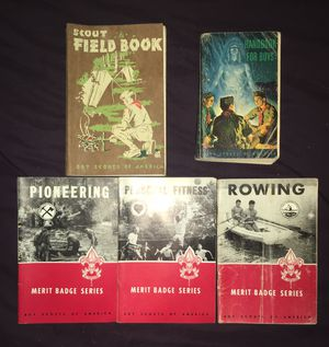 Collection of Old Boy Scouts of America books scouting vintage collectors for Sale in Hyattsville, MD