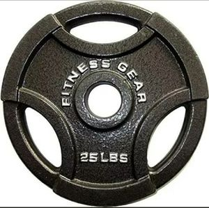 Two 25 LB weight plates for Sale in Hyattsville, MD