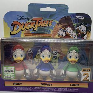 🔥 Funko ECCC Disney Ducktales Huey Dewey & Louie 3-Pack Series 2 for Sale in San Diego, CA