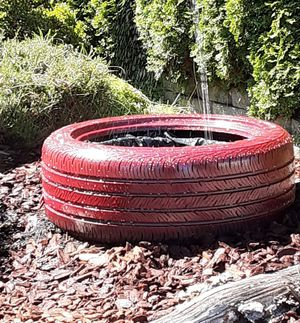 (Tire Fountains) Solar or Electric Tire Fountain (taking orders no money up front) for Sale in Kent, WA