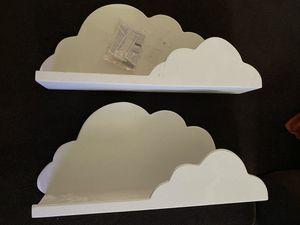 Cloud bookshelves for Sale in Porterville, CA