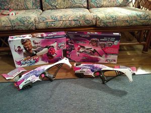 2 REBELLE NERF GUNS for Sale in Germantown, MD