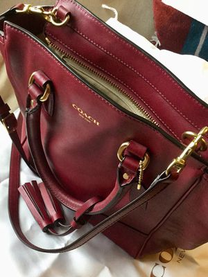 Coach Leather Bag for Sale in Cambridge, MA