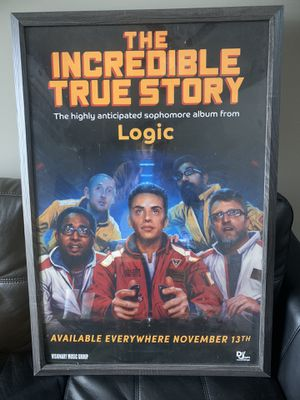 Logic Autographed Poster for Sale in Aurora, IL