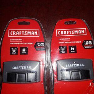 NEW CRAFTSMAN 3 BUTTON REMOTE GARAGE DOOR OPENERS for Sale in Livonia, MI