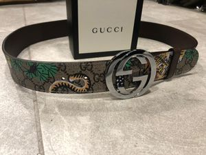 Gucci Floral/Feline Belt *Authentic* for Sale in Queens, NY