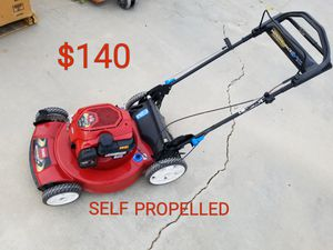 toro self propelled lawn mower runs excellent for Sale in Littlerock, CA