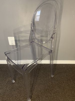 Clear Chair for Sale in New Britain, CT