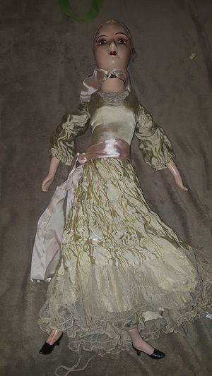 26 in boudoir doll needs tlc antique vintage for Sale in Tacoma, WA