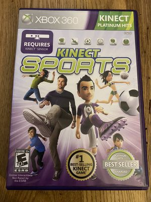 XBOX 360 Kinect Sports game for Sale in Holly Springs, NC