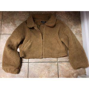 Medium, fashion nova teddy jacket for Sale in Los Angeles, CA