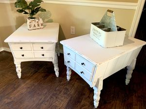 Refinished farmhouse style end tables for Sale in Kernersville, NC