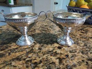 Sterling Silver Sugar Creamer Set for Sale in Conroe, TX