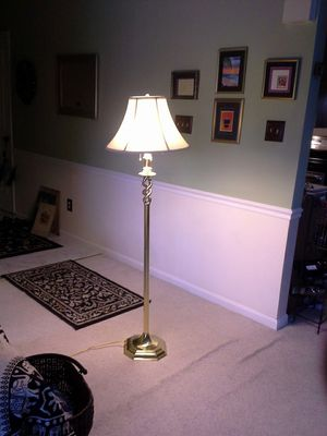 Brass Floor Lamp for Sale in Alexandria, VA