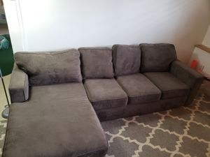 Couch with chaise for Sale in Kenmore, WA