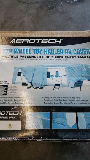 Aerotech 5th Wheel cover. for Sale in Menifee, CA