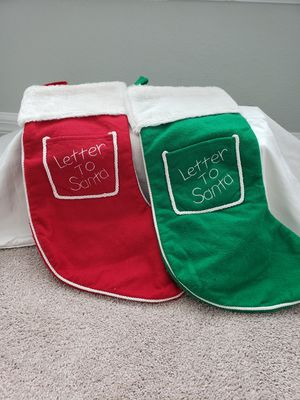 Letters to Santa stocking set for Sale in NEW PRT RCHY, FL