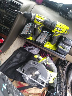 Ryobi tool set for Sale in Dallas, TX
