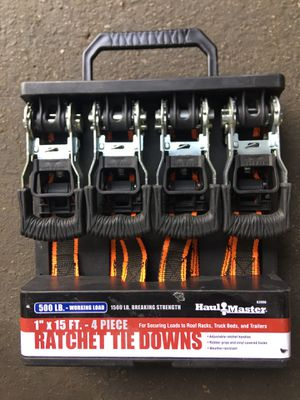 500 LB Ratchet Tie downs for Sale in Downey, CA