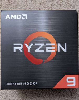 AMD Ryzen 9 5900X 12-core, 24-Thread Unlocked Desktop Processor Without Cooler for Sale in Chevy Chase, MD