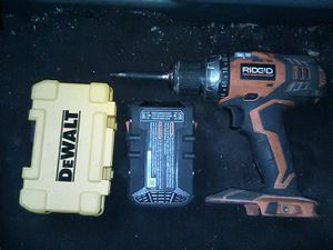 RIDGID TOOL BUNDLE for Sale in Philadelphia, PA
