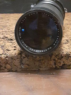 Vivitar auto tele zoom f/4.5 90-230mm camera lens for Sale in Yuba City, CA