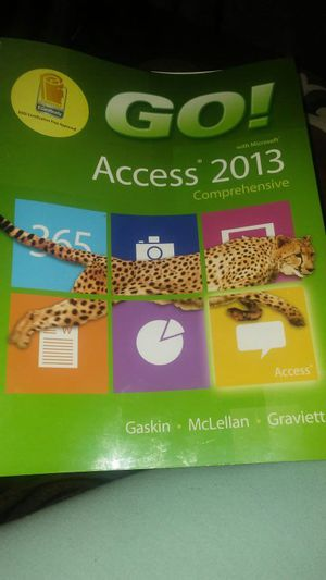 Go with Microsoft Access 2013 for Sale in New Bern, NC