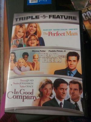 DVD triple rom com for Sale in Pomona, CA