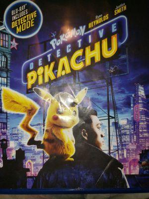 Detective pikachu dvd for Sale in Aberdeen, WA