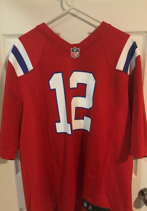 Throwback Alternate NFL Patriots Tom Brady Jersey for Sale in Miami, FL