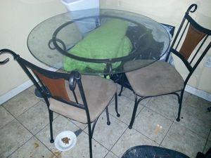 Glass kitchen table for Sale in Abilene, TX