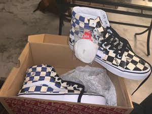 Checkerboard Hightop Vans for Sale in Philadelphia, PA